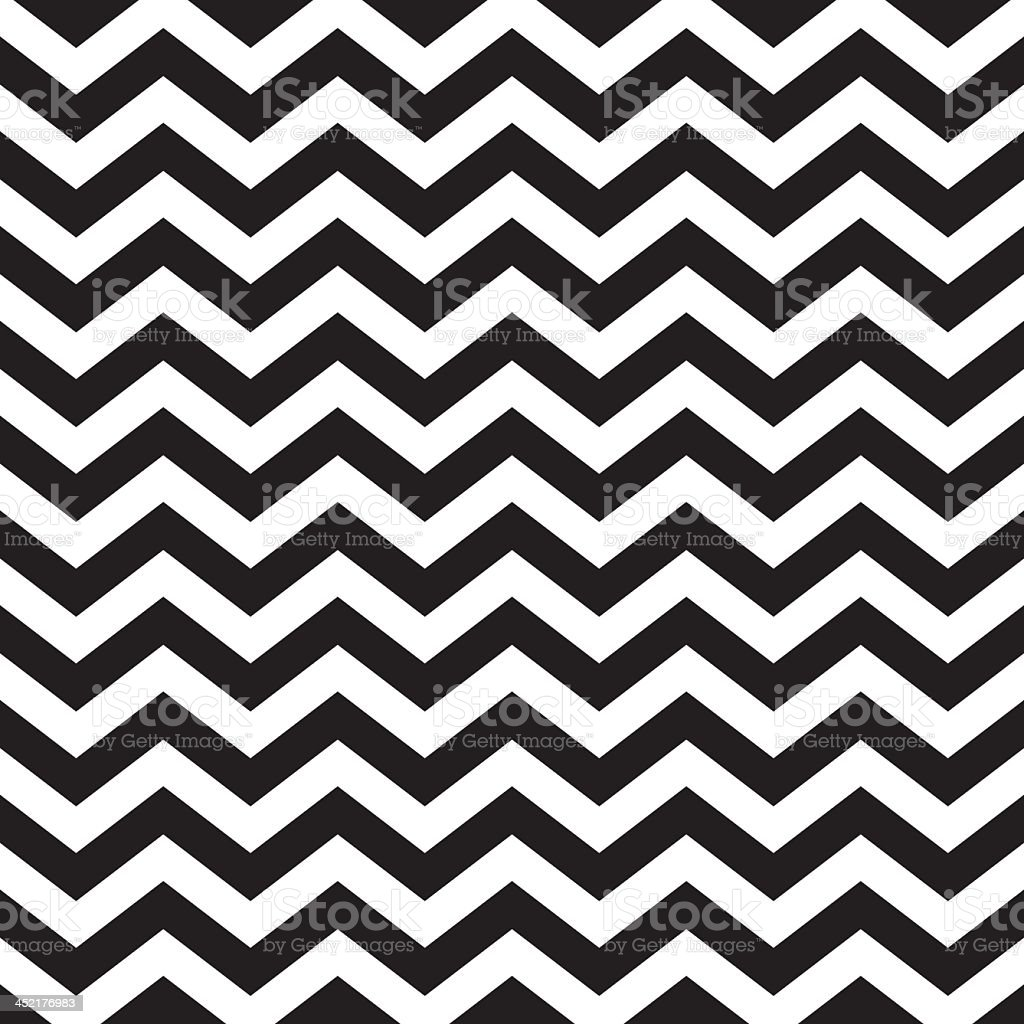 Seamless zigzag chevron pattern in black and white royalty-free seamless zigzag chevron pattern in black and white stock illustration - download image now