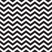 istock Seamless zigzag chevron pattern in black and white 452176983