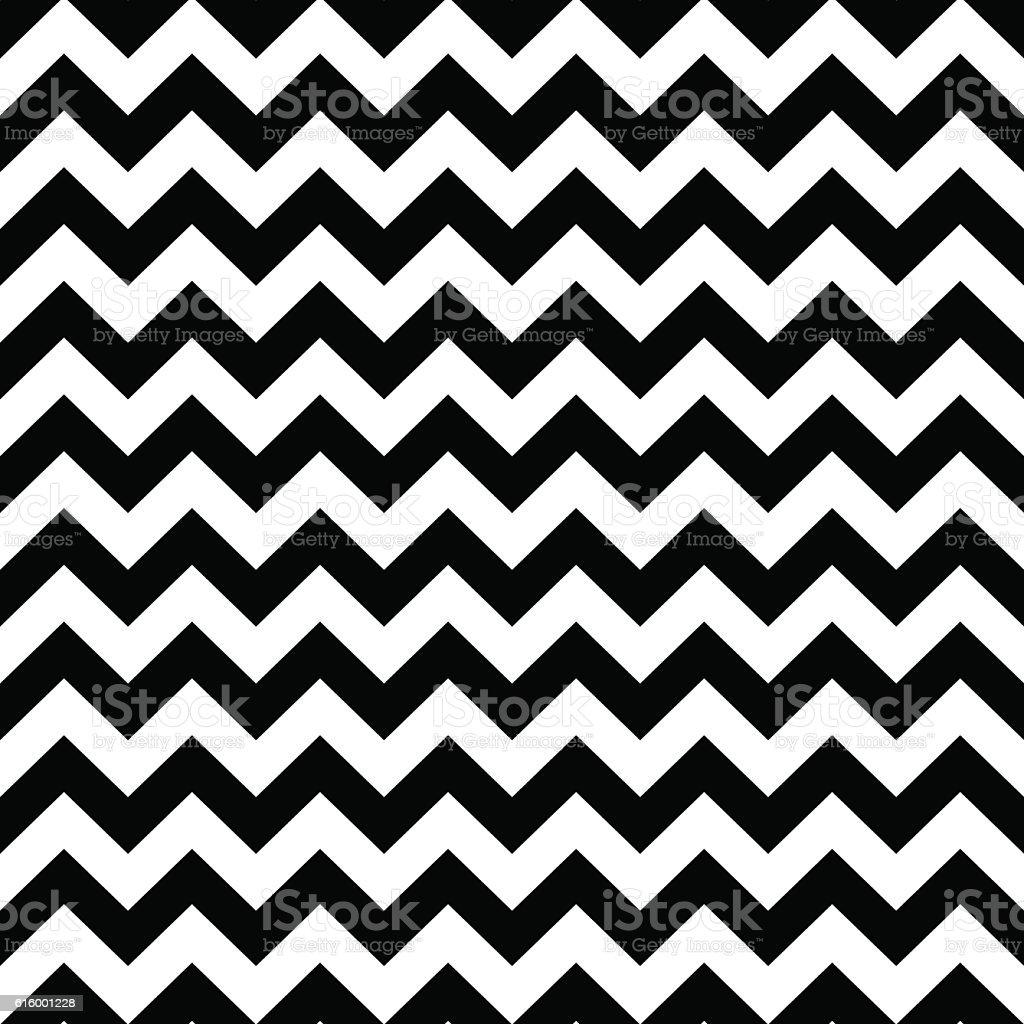 Seamless zigzag pattern. vector art illustration