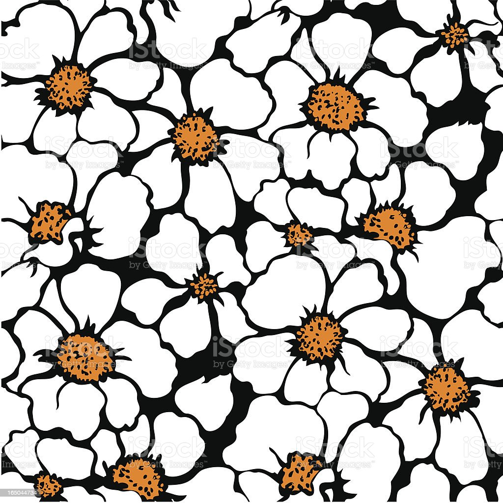 Seamlessly repeating floral pattern royalty-free seamlessly repeating floral pattern stock vector art & more images of backgrounds