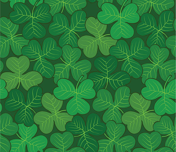 Seamlessly repeating pattern vector art illustration