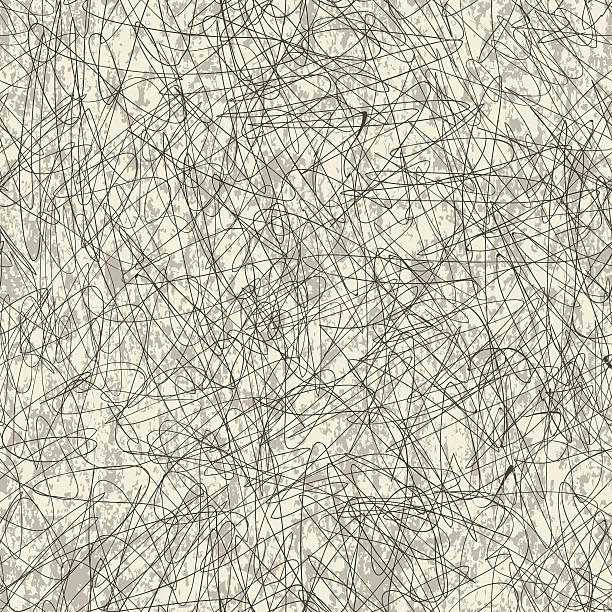 Seamlessly repeating wallpaper pattern vector art illustration