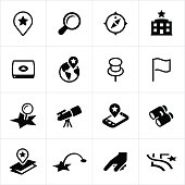 Search and Locate Icons