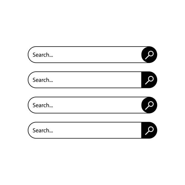 検索窓 イラスト素材 Istock