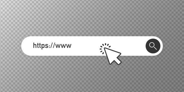 suchleiste vektorelement, suchfelder ui vorlage auf transparentem hintergrund. vektor - sucht stock-grafiken, -clipart, -cartoons und -symbole
