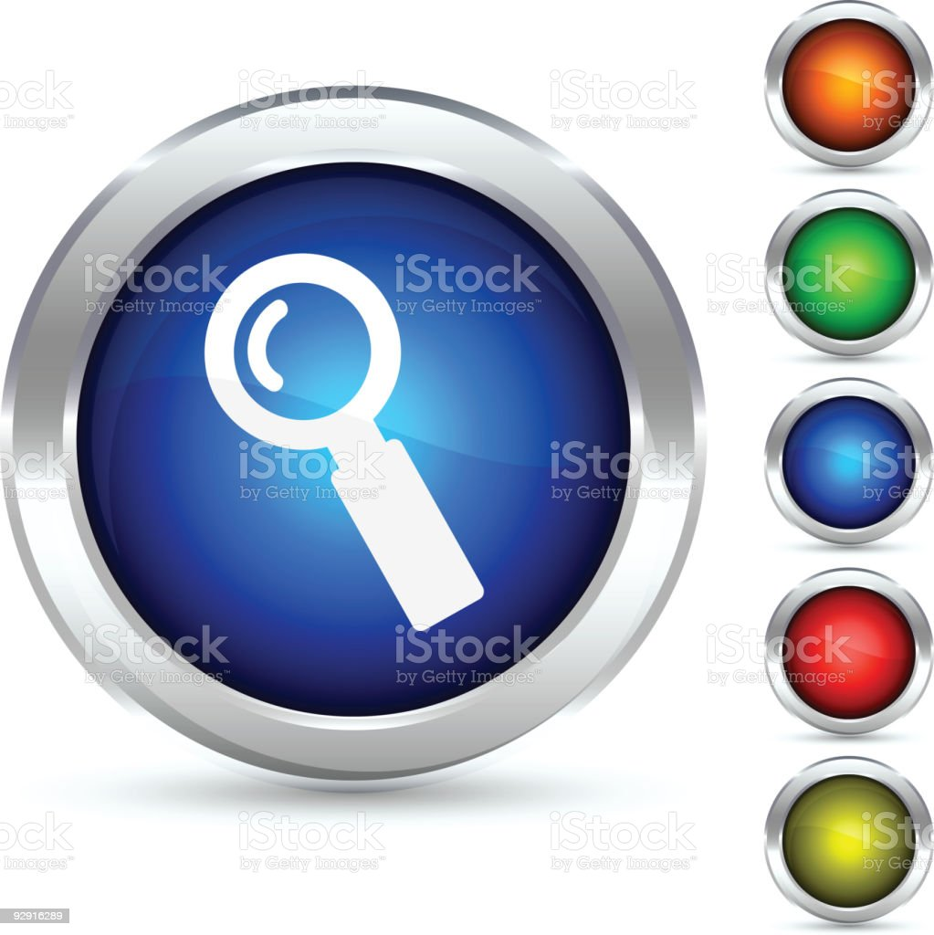 Search button. royalty-free stock vector art