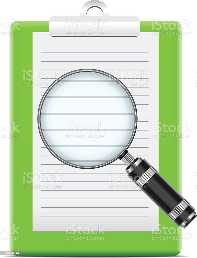 Search concept royalty-free stock vector art