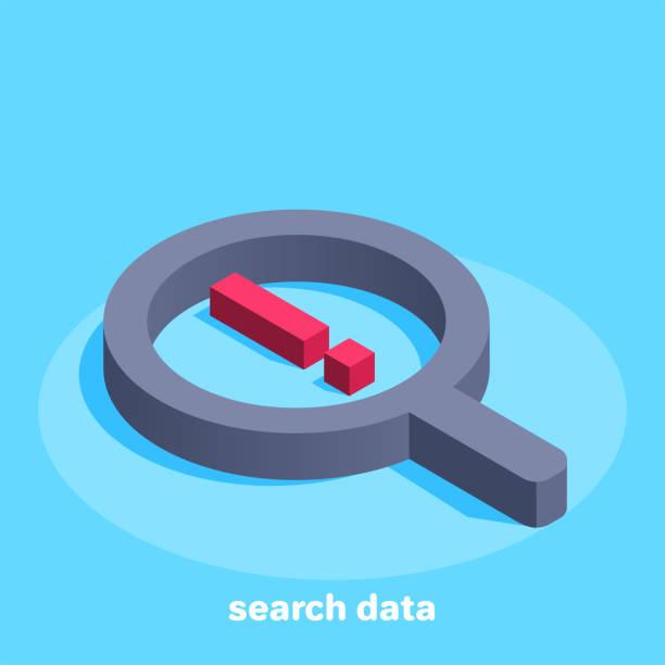 search data vector art illustration
