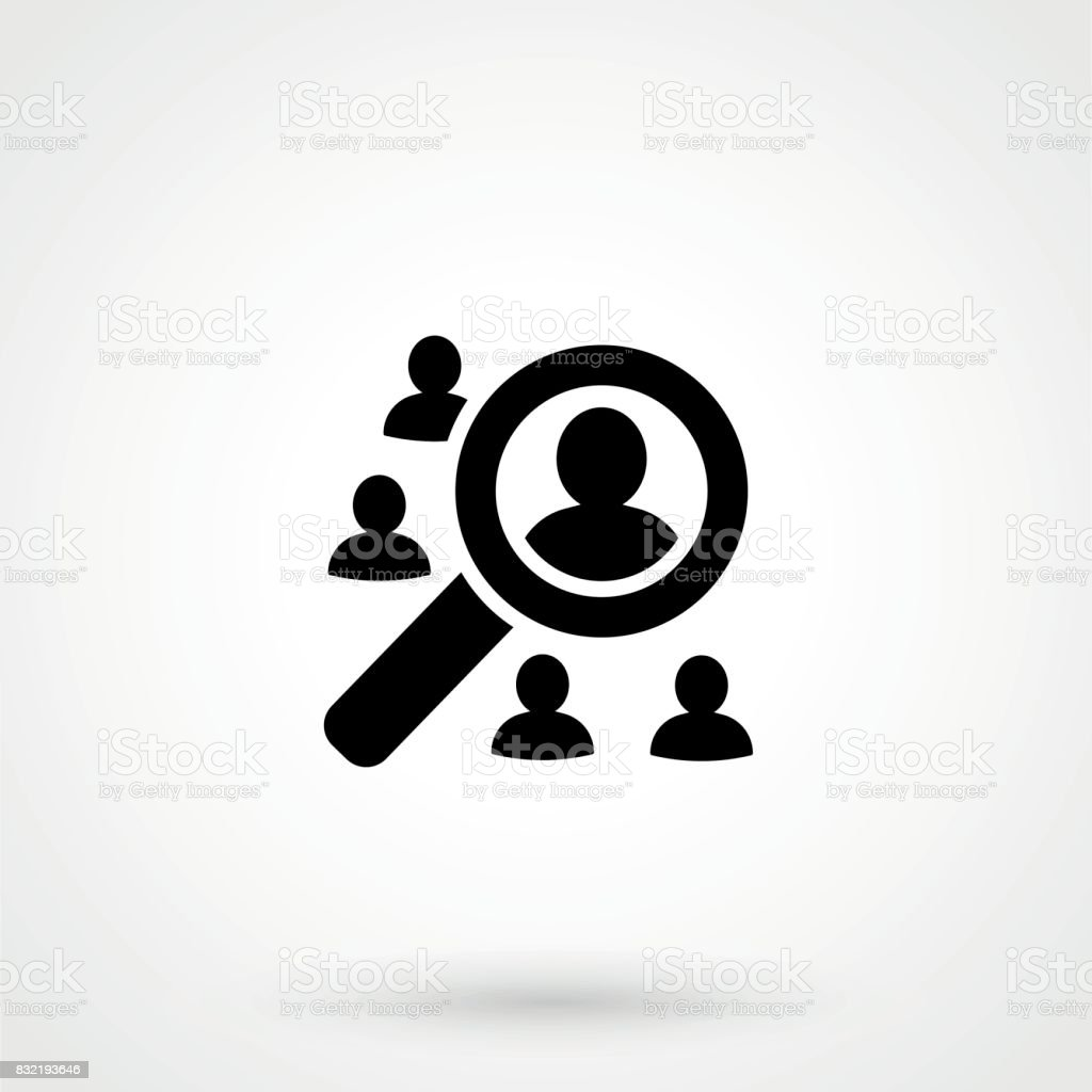 Search For Employees And Job, Business, Human Resource. Looking For Talent.  Royalty