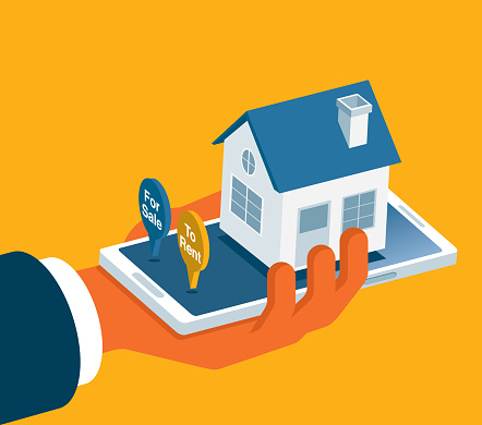 Search for houses online