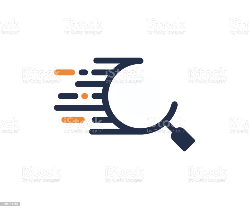 Search icon vector art illustration