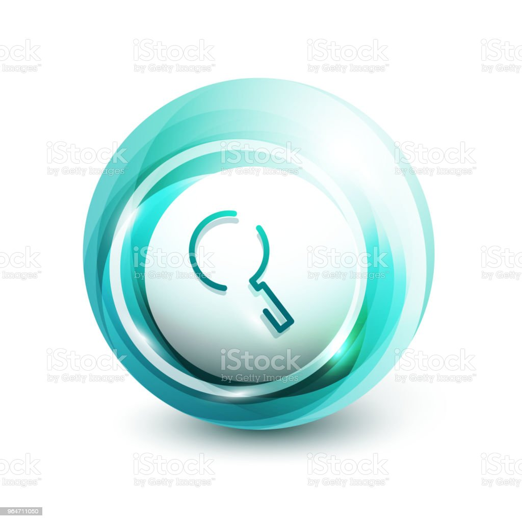 Search magnifyier web button, magnify icon. Modern magnifying glass sign, web site design or mobile app royalty-free search magnifyier web button magnify icon modern magnifying glass sign web site design or mobile app stock vector art & more images of computer