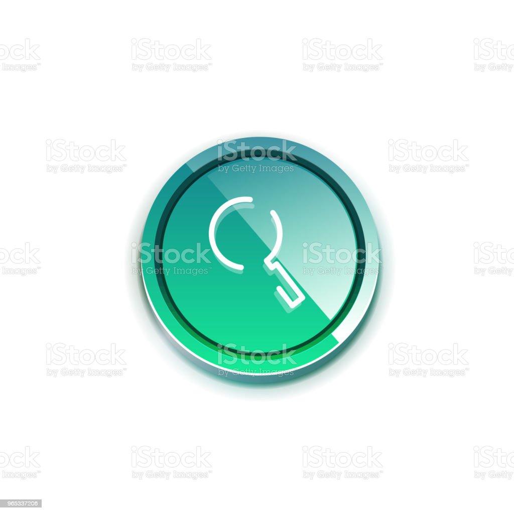 Search magnifyier web button, magnify icon. Modern magnifying glass sign, web site design or mobile app search magnifyier web button magnify icon modern magnifying glass sign web site design or mobile app - stockowe grafiki wektorowe i więcej obrazów aplikacja mobilna royalty-free