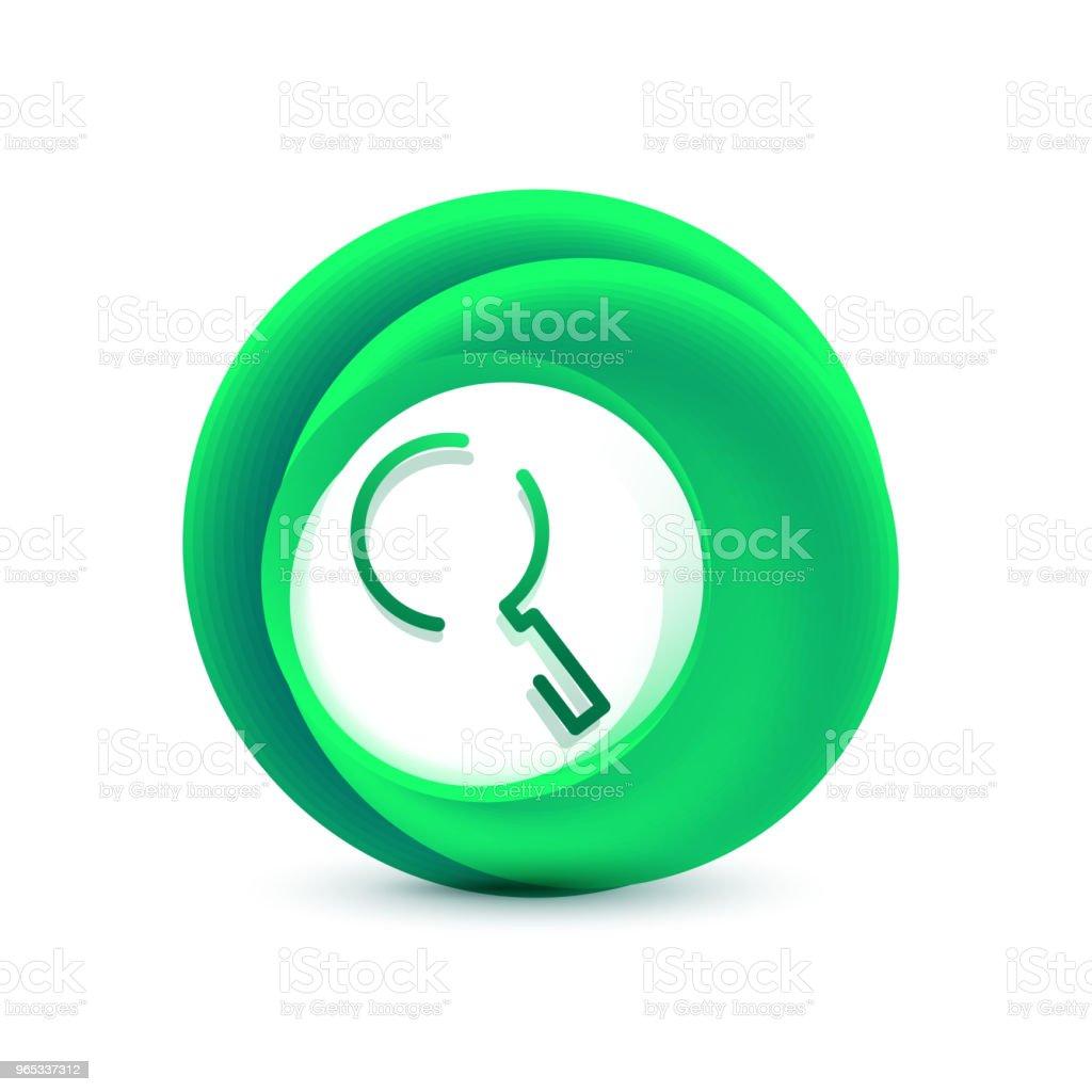 Search magnifyier web button, magnify icon. Modern magnifying glass sign, web site design or mobile app search magnifyier web button magnify icon modern magnifying glass sign web site design or mobile app - stockowe grafiki wektorowe i więcej obrazów badania royalty-free