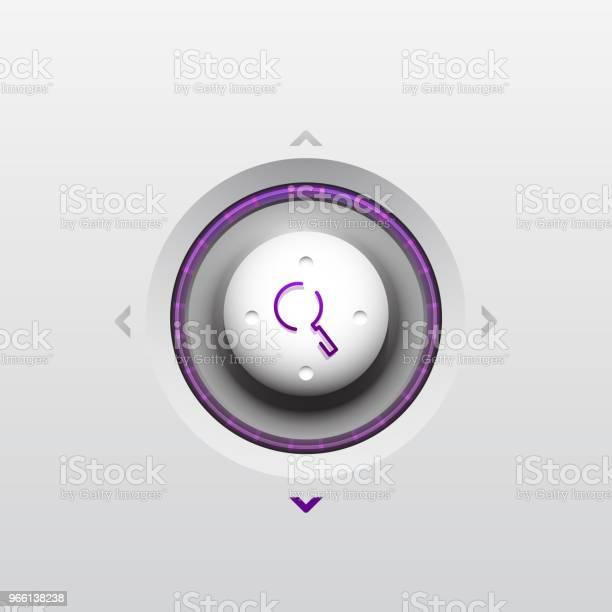Sök Magnifyier Webknappen Förstora Ikonen Modern Förstoringsglas Skylt Webbdesign Eller Mobilapp-vektorgrafik och fler bilder på Arbetsverktyg