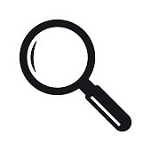 istock Search magnifying glass icon symbol 1221635138
