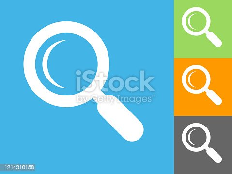 istock Search Magnifying Glass Icon 1214310158