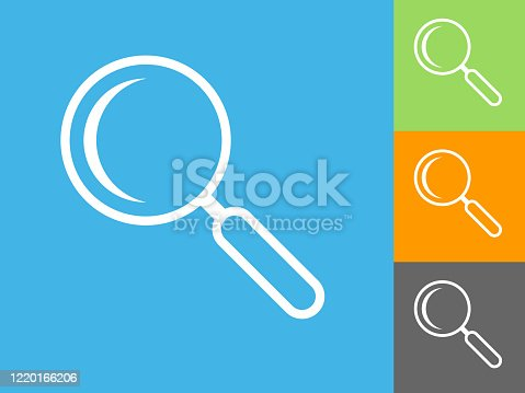 istock Search Magnifying Glass Icon 1220166206