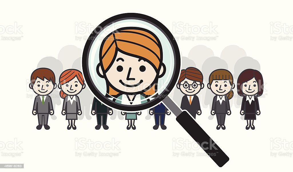 Search the best employee royalty-free stock vector art