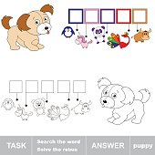 Search the word PUPPY