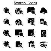 Searching & Internet icon set