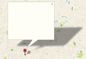 """Background illustration of a Map Pin Background with Sign, Searching and looking. Check out my """"Travel"""" light box for more."""