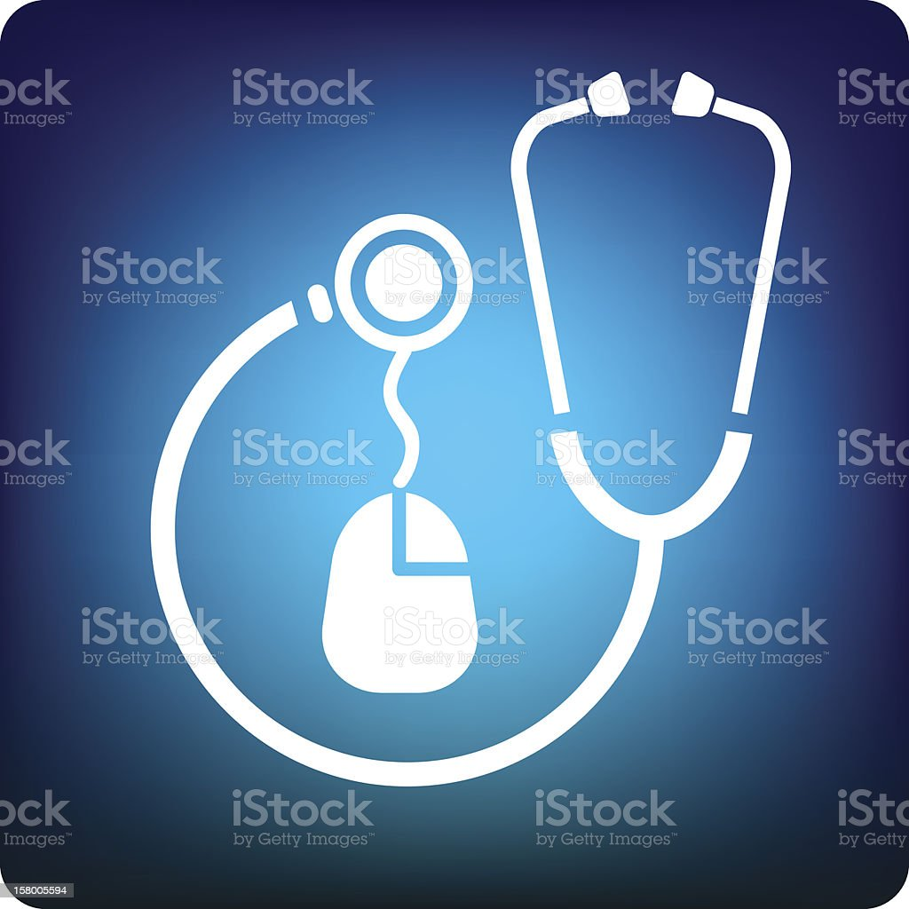 Searching medical royalty-free stock vector art