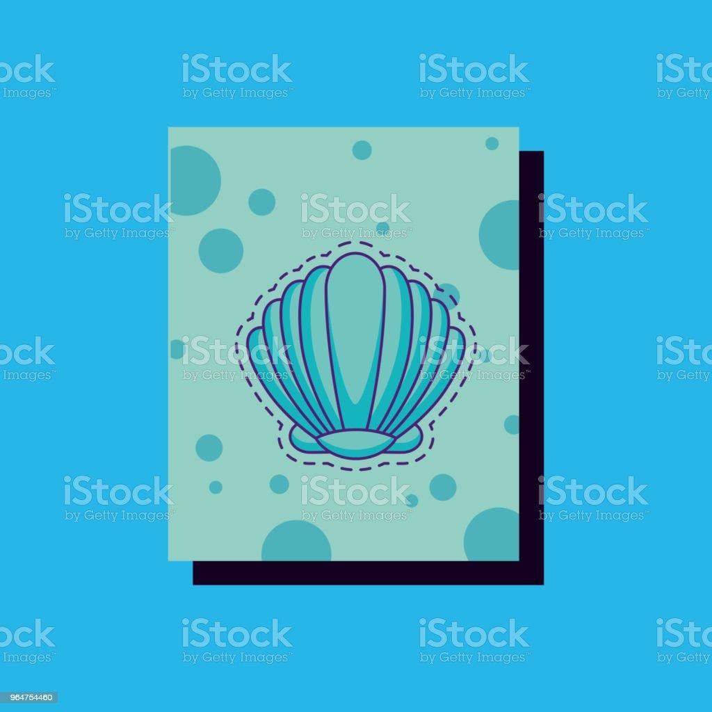 seashell icon image royalty-free seashell icon image stock illustration - download image now