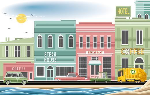 Seaside stores
