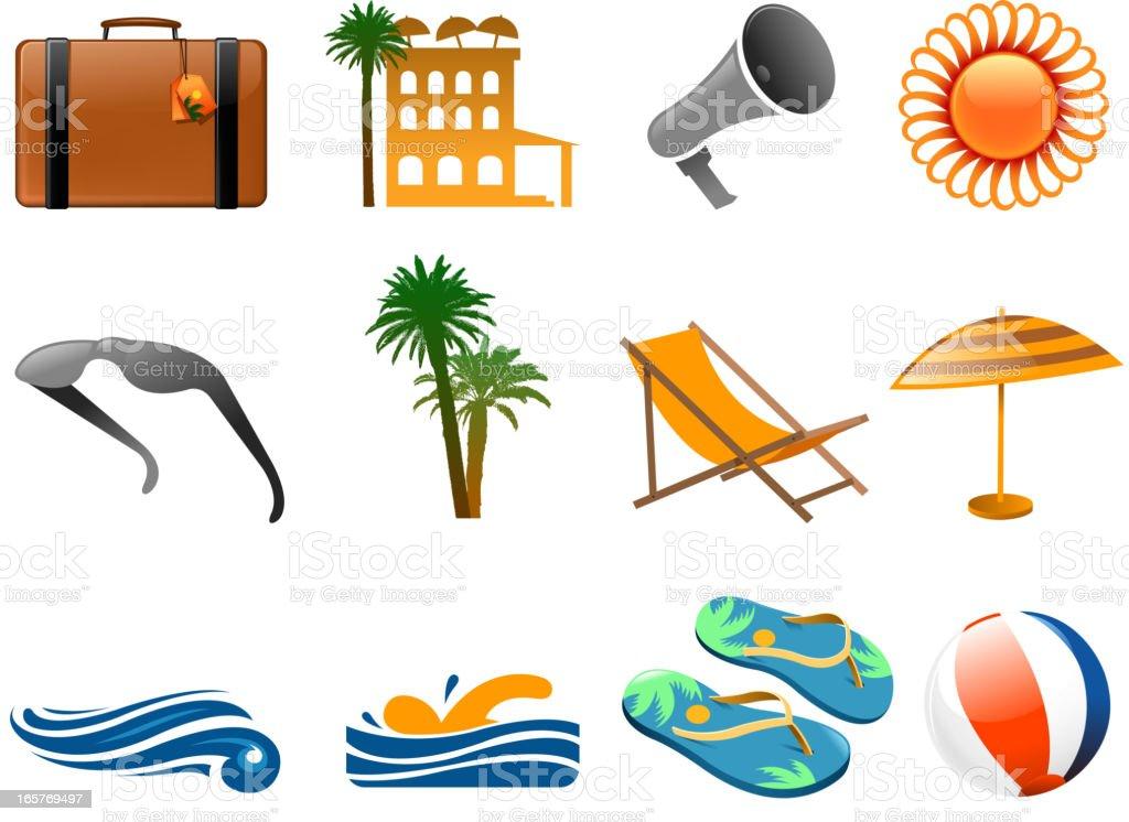 season icons royalty-free stock vector art