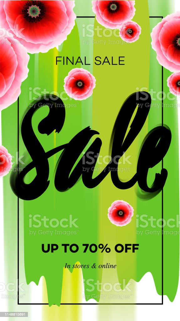 Season sale banner template. Vector illustration for website and...
