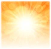 drawing of vector season sunlight sign. Created by illustrator cs6. This file of transparent.