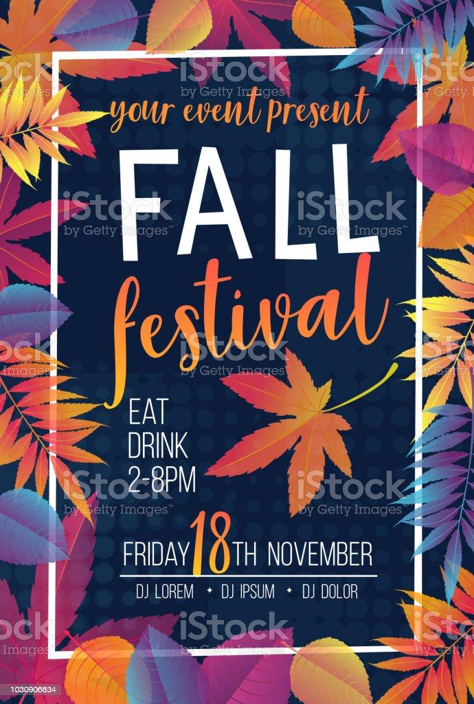 Seasonal autumn banner royalty-free seasonal autumn banner stock illustration - download image now