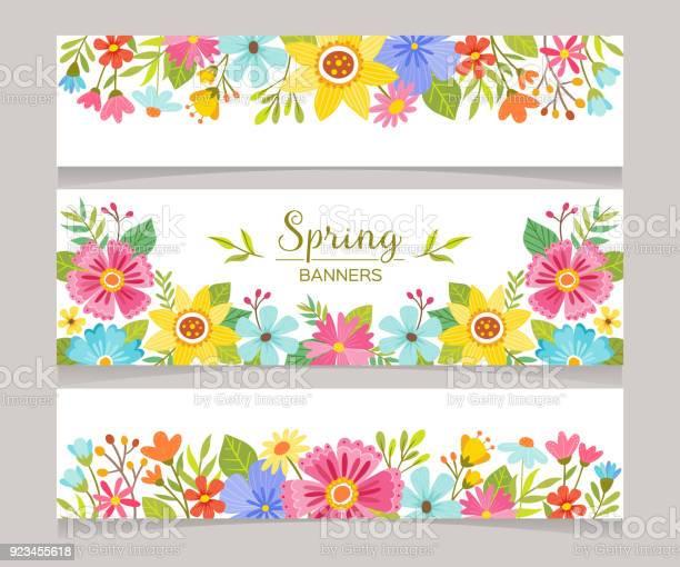 Seasonal spring decorative banners vector id923455618?b=1&k=6&m=923455618&s=612x612&h=9o6ilqvsz6skcasl7uhamxgo3pzhx1csnmexa6fsicu=