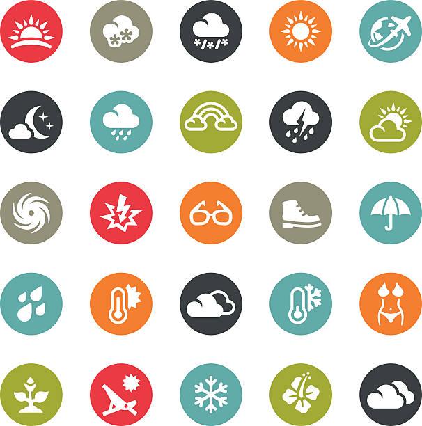 saison und wetter-icons/ringico series - schneeflocke sonnenaufgang stock-grafiken, -clipart, -cartoons und -symbole