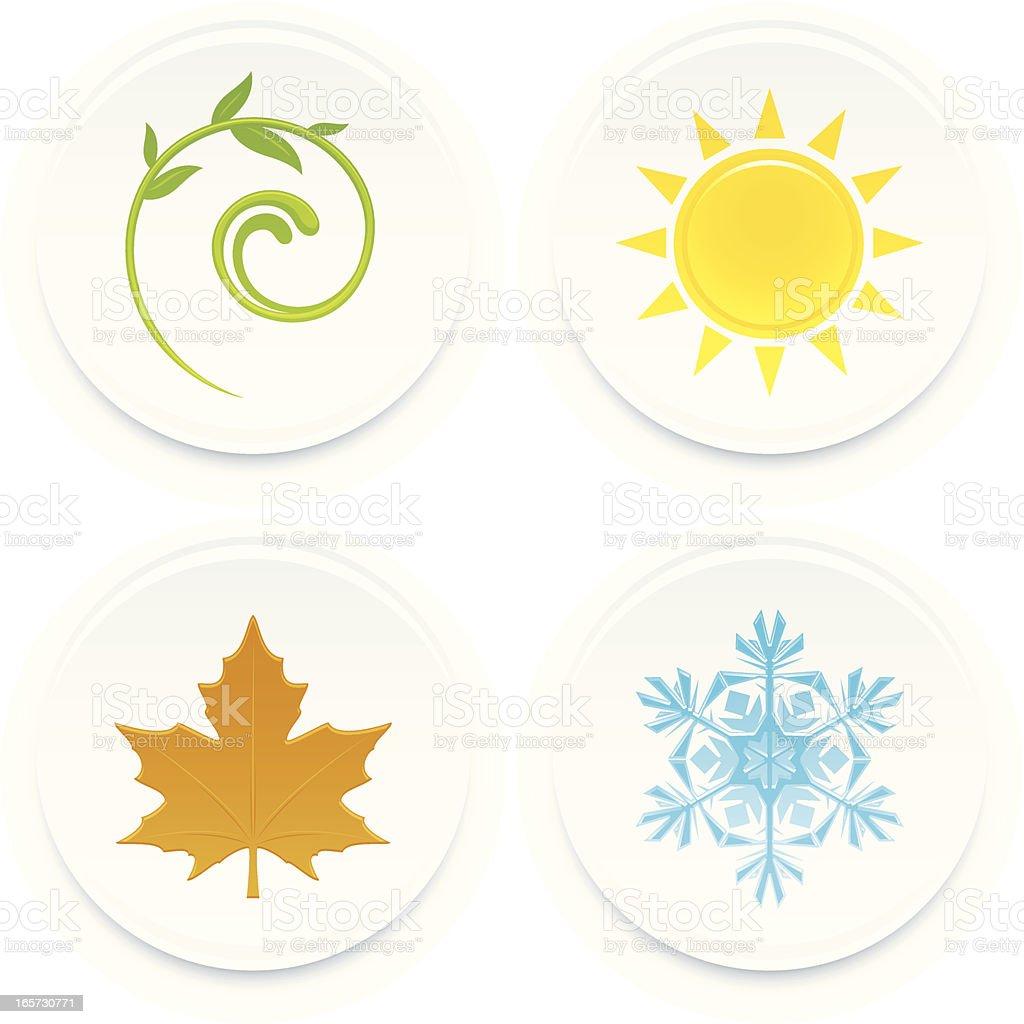 Seasons royalty-free seasons stock vector art & more images of autumn