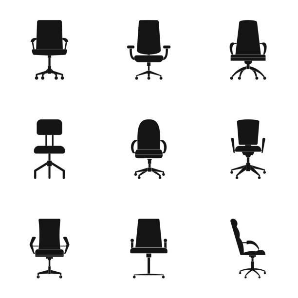 symbole sitzgarnitur, einfachen stil - schultischrenovierung stock-grafiken, -clipart, -cartoons und -symbole