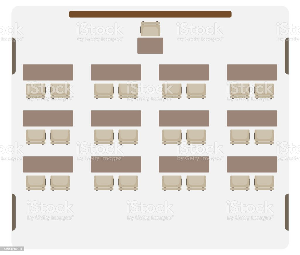 Seat map of Classroom show table and chair royalty-free seat map of classroom show table and chair stock vector art & more images of blackboard