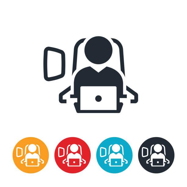 uçak kutsal kişilerin resmi üstünde oturmuş - airplane seat stock illustrations