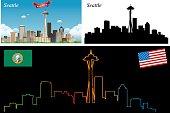 Seatte Skyline