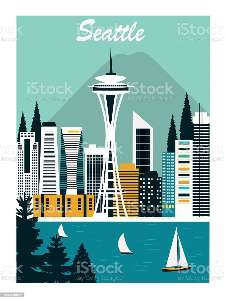 Seattle city.