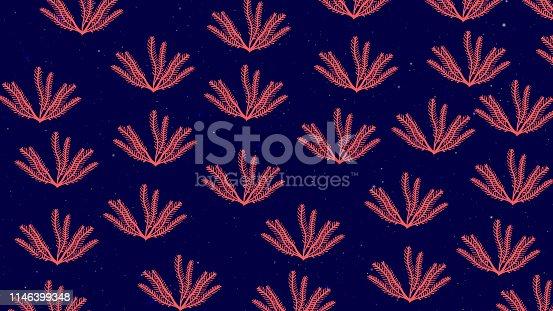 Seaweed Item Pattern Background