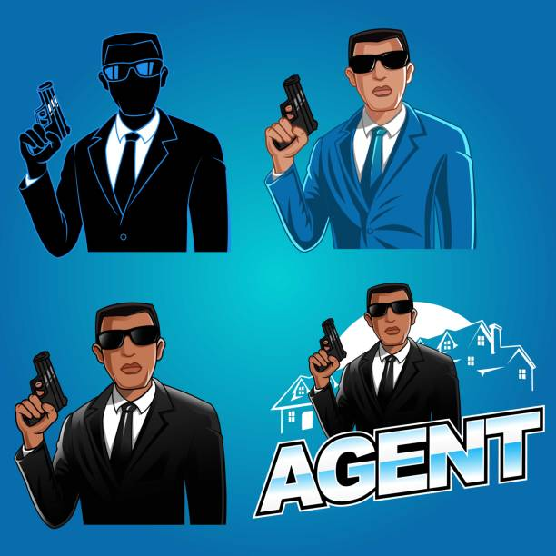 Royalty Free James Bond Clip Art, Vector Images