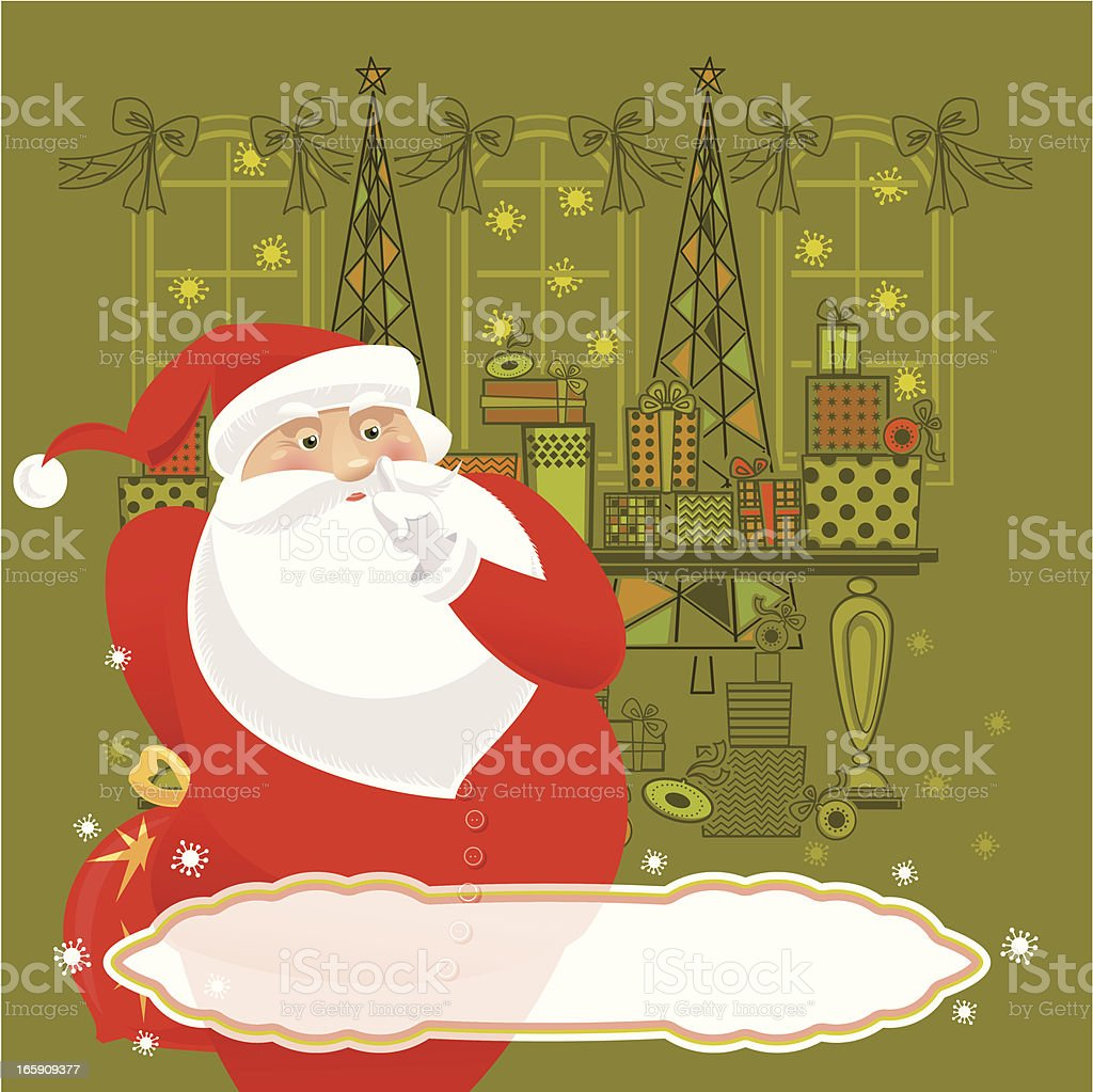 Secret Santa royalty-free secret santa stock vector art & more images of anthropomorphic smiley face
