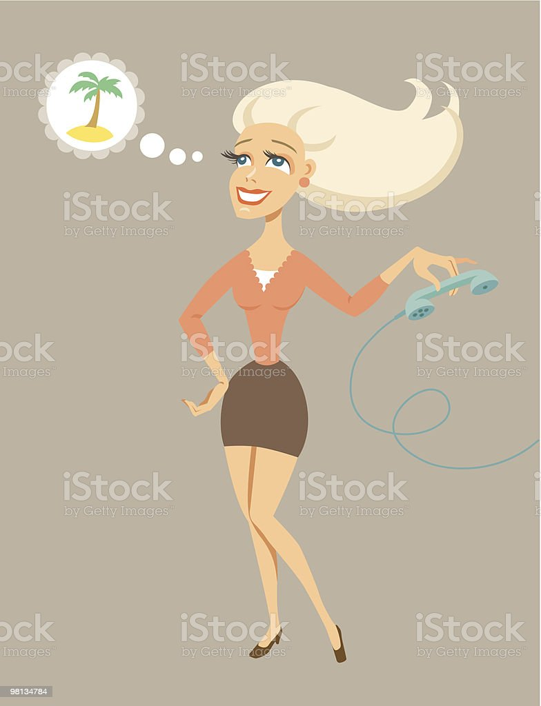 secretary royalty-free secretary stock vector art & more images of adult