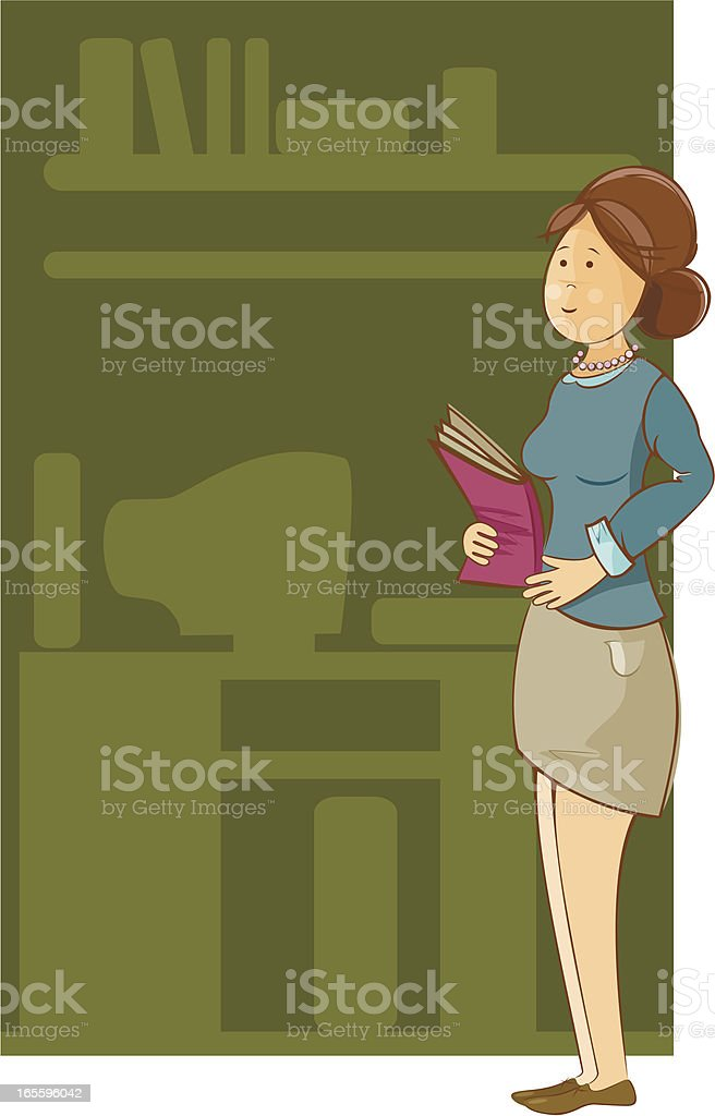 Secretary woman royalty-free secretary woman stock vector art & more images of adult