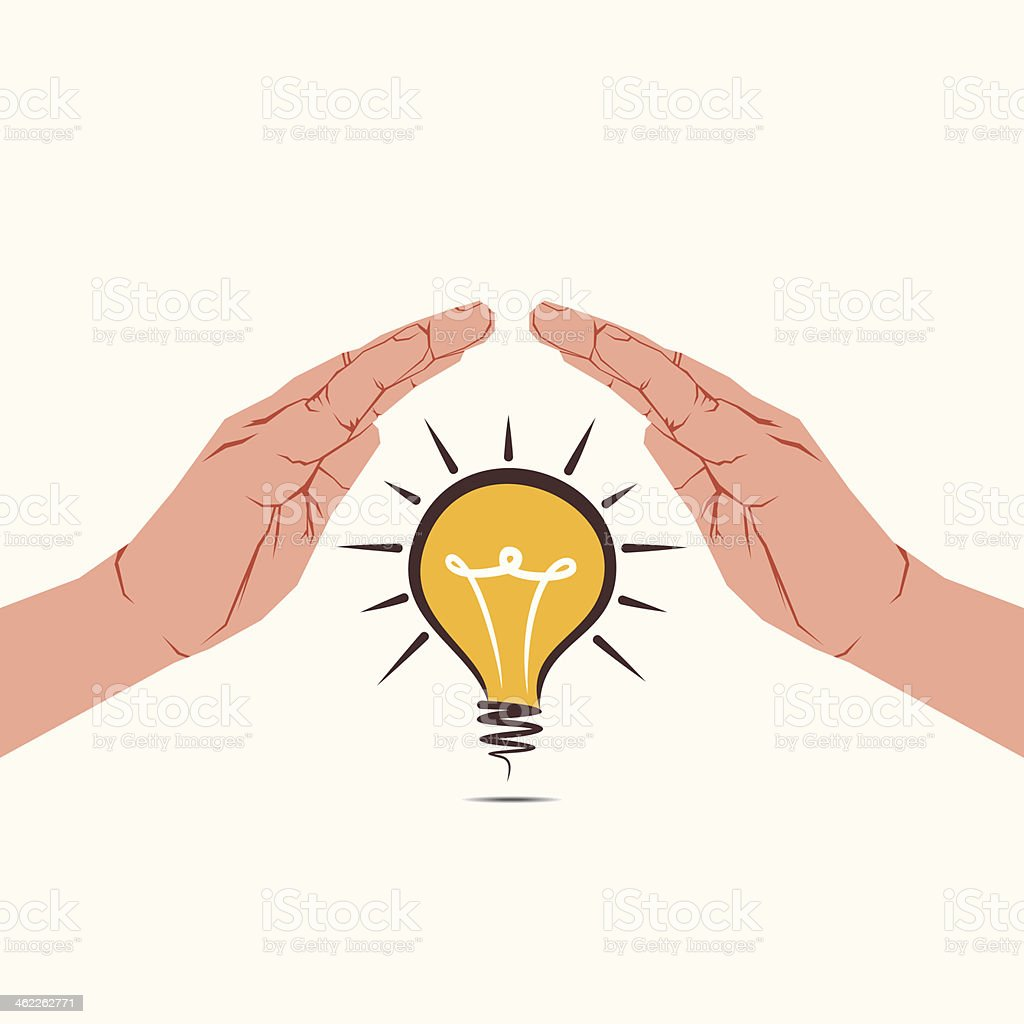 secure new idea concept royalty-free stock vector art