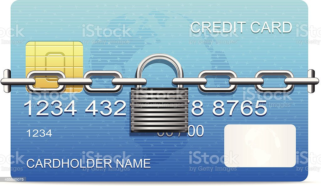 Secure Payment royalty-free stock vector art
