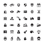 Security and Crime - Ultimate pack #45  36 exclusive and professionally created vector icon set.  Complete collection https://www.istockphoto.com/collaboration/boards/mzrx2NNkGUed1WzIqlF5AA