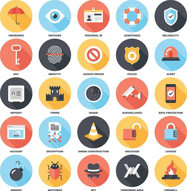 bildbanksillustrationer, clip art samt tecknat material och ikoner med security and protection - fire alarm